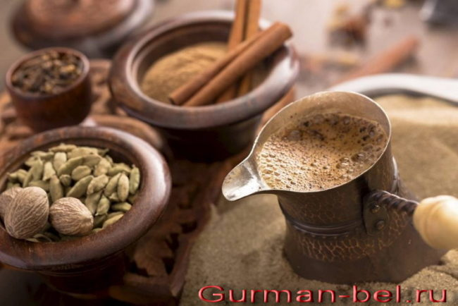 Рецепт кофе с корицей и кардамоном