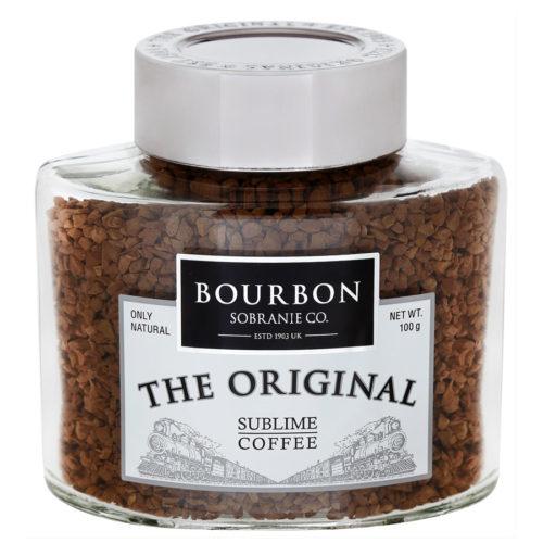 кофе Бурбон Оригинал растворимый в стеклянной банке
