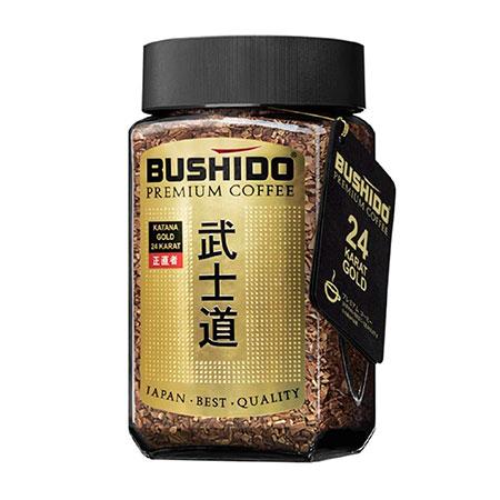 Растворимый кофе Бушидо Голд