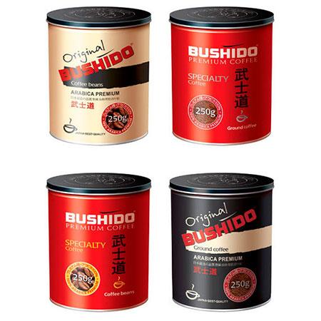 кофе Бушидо молотый