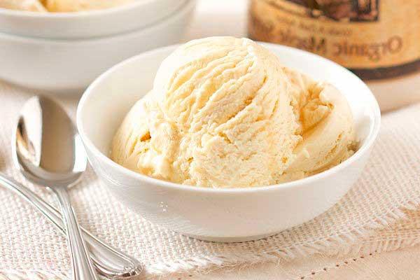 рецепт мороженого без сливок