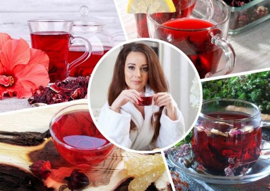 полезные свойства чая каркаде для женщин