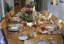 как красиво накрыть праздничный стол