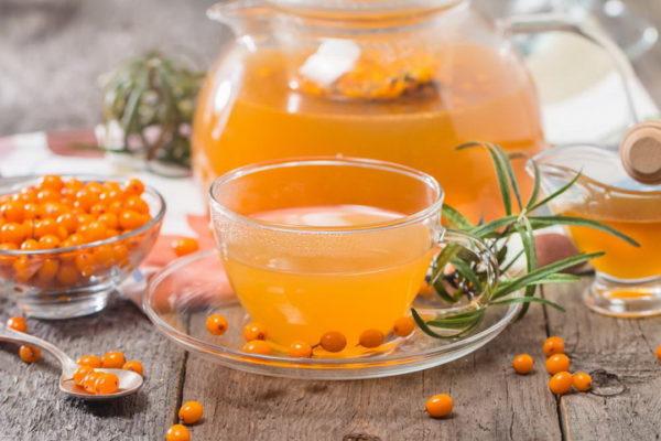 Чай с облепихой - рецепты, как заварить, чем полезен