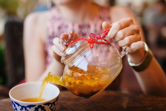 польза чая из облепихи для женщин