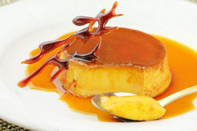 классический флан - испанский десерт