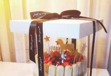 красивая коробка для торта
