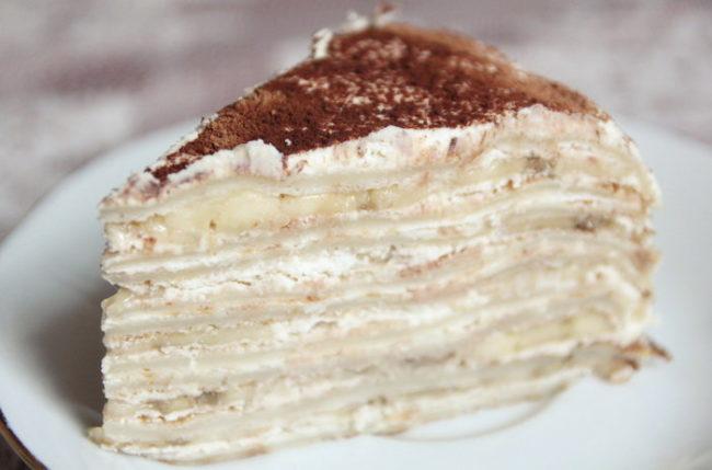 Крем для торта из маскарпоне со сгущёнкой