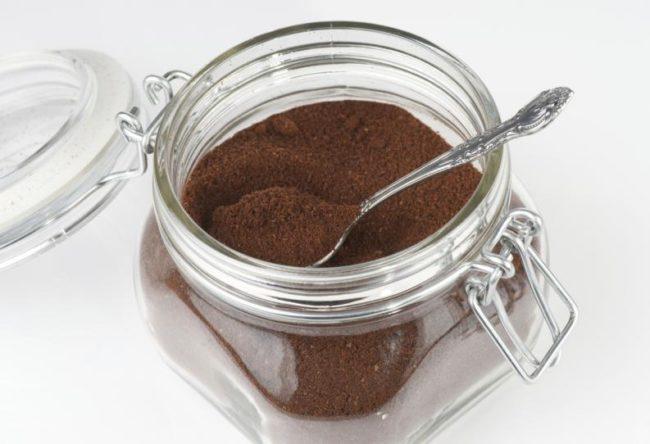 молотый кофе - хранение