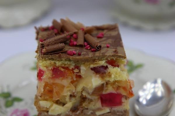 торт Амбассадор с желе