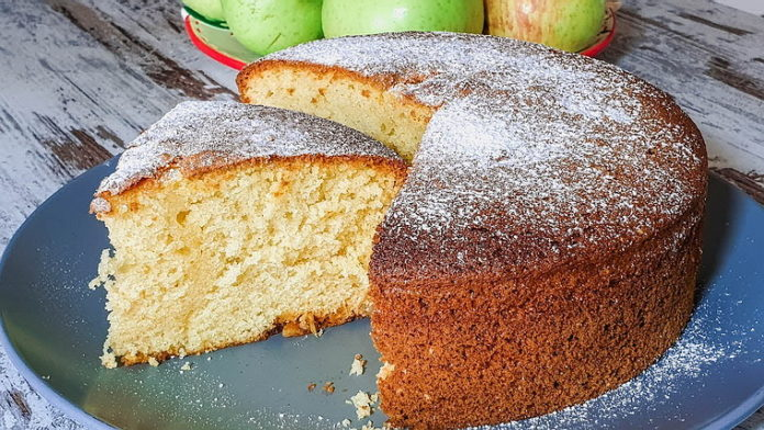 Нежный итальянский пирог 12 ложек - рецепт приготовлния