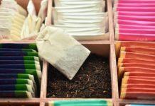 чай с логотипом компании