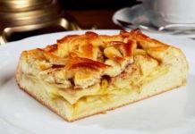 Открытый пирог с яблоками и корицей в духовке - рецепт пошагового приготовления