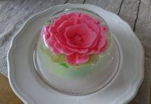 """Десерт """"Розы из яблок в желе"""" рецепт приготовления"""