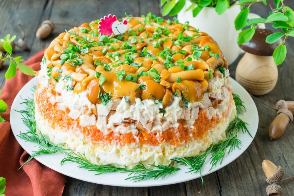 сердится, когда салат грибное лукошко рецепт с фото бродилку хочу вечерним