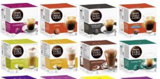 dolce gusto NESCAFE - капсульный кофе