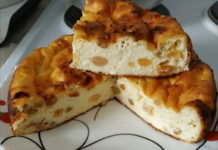Нежная творожная запеканка в духовке - рецепт