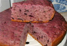 Бисквит из варенья - рецепт пошагово
