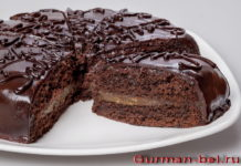 Как приготовить сочный шоколадный бисквит для торта