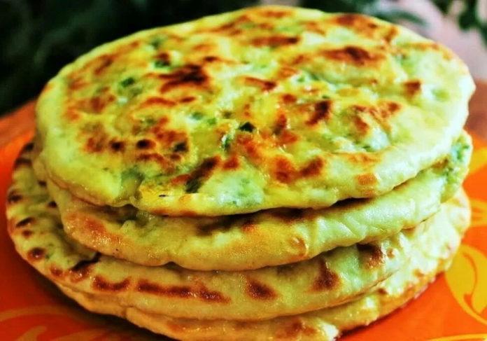 Сырные лепешки за 10 минут - рецепт пошагово