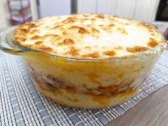 Картофельный пирог за 15 минут - рецепт