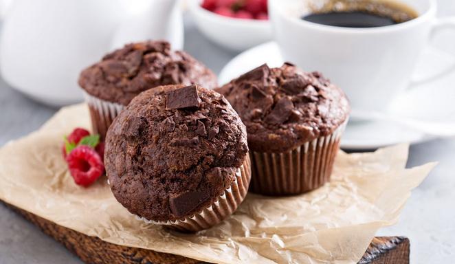 Кофейные кексы - простой рецепт