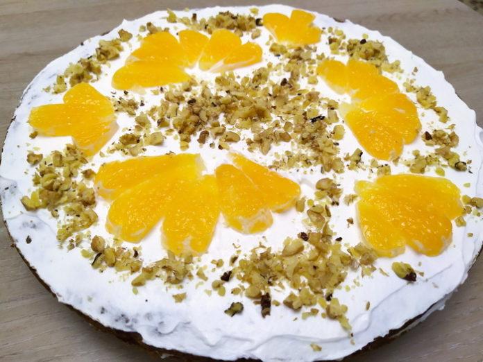 Морковный торт - рецепт