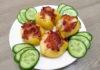 Красивая подача вкусной вареной картошки