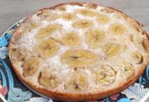 Банановыйт пирог перевертыш