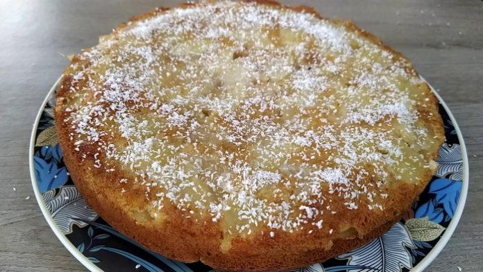 Яблочный немецкий пирог - рецепт