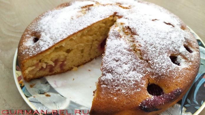 Клубничный пирог - рецепт