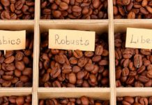 виды и сорта кофе